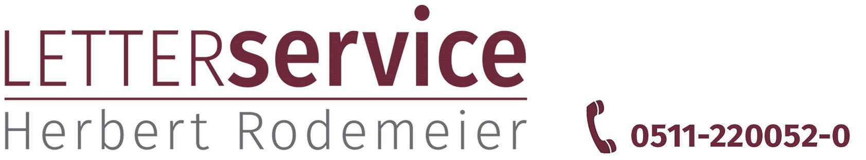 Logo Letterservice Herbert Rodemeier - Lettershop Hannover